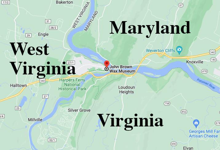 John Brown Wax Museum Location